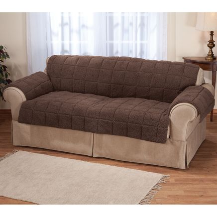 Waterproof Quilted Sherpa Extra-Large Sofa Protector by OakRidge™-355664