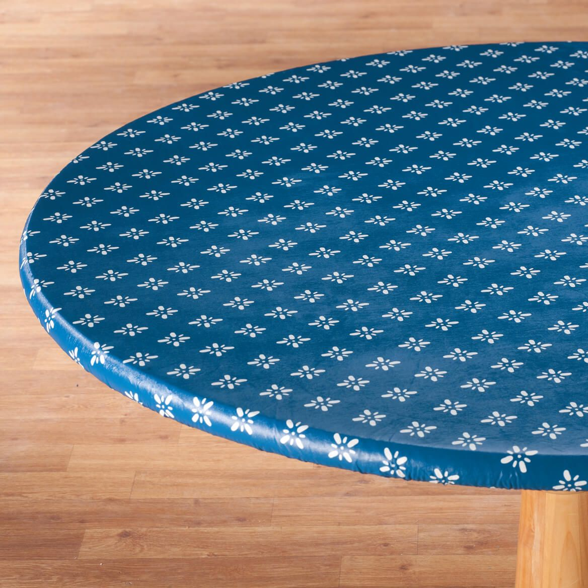 Heritage Vinyl Elasticized Table Cover By Home-Style Kitchen™-355910