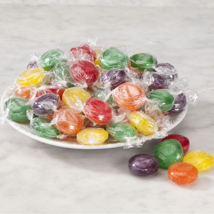 Assorted Fruit Button Hard Candies-356407