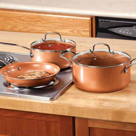 Ceramic Non-Stick Pans Set-357620
