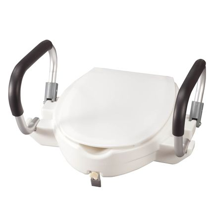 "4"" Toilet Seat with Arms and Lid-357861"