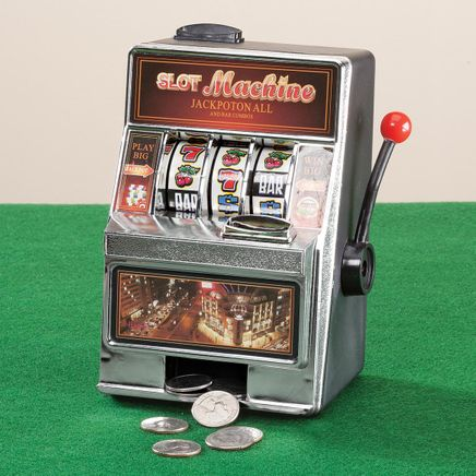 Small Slot Machine and Bank-357986
