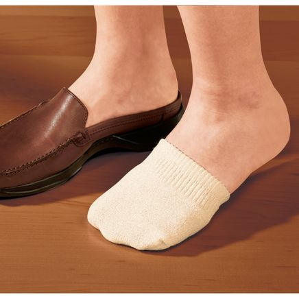 Toe Half Socks, 2 Pair-358149