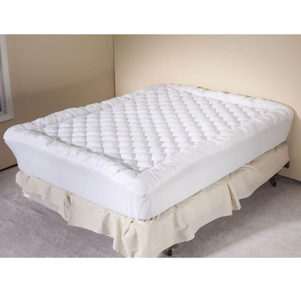Diamond Puff Pad Mattress Topper-358242