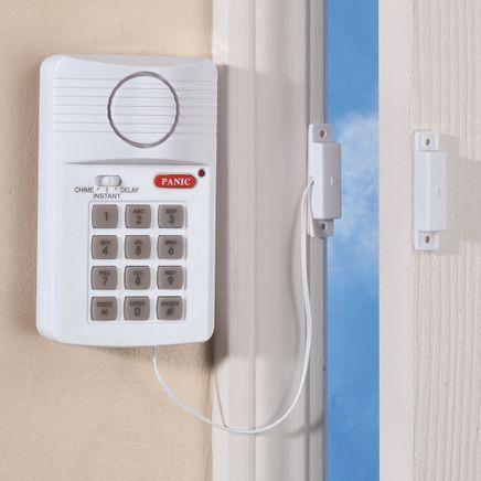 Magnetic Door Alarm with Programmable Keypad-358272