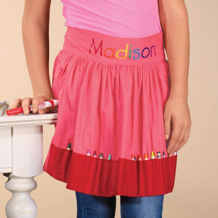 Personalized Crayon Apron-358476