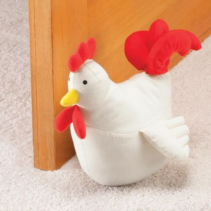 Plush Rooster Doorstop by OakRidge™-358577