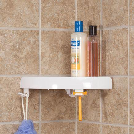 Self-Adhesive Corner Shelf-359821