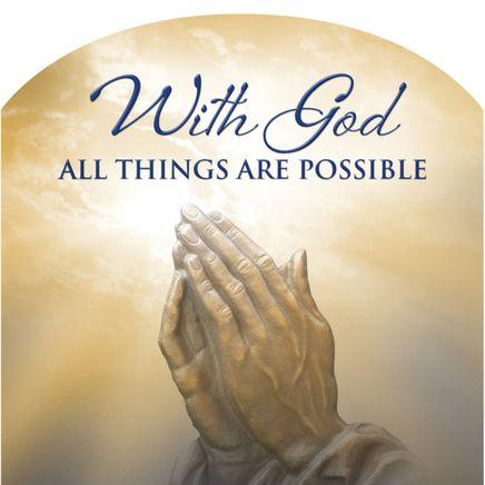 Mini Magnetic Calendar Praying Hands-360118
