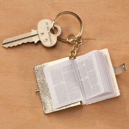 Mini Bible Key Chain-360337