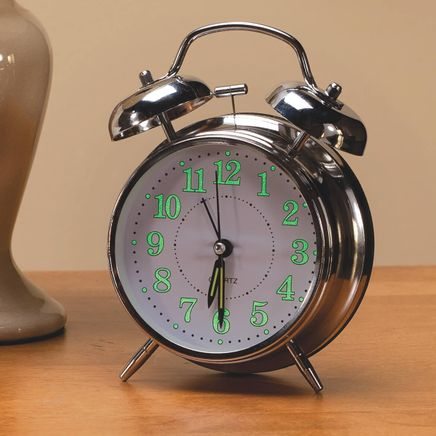 Vintage Glow in the Dark Alarm Clock-360437