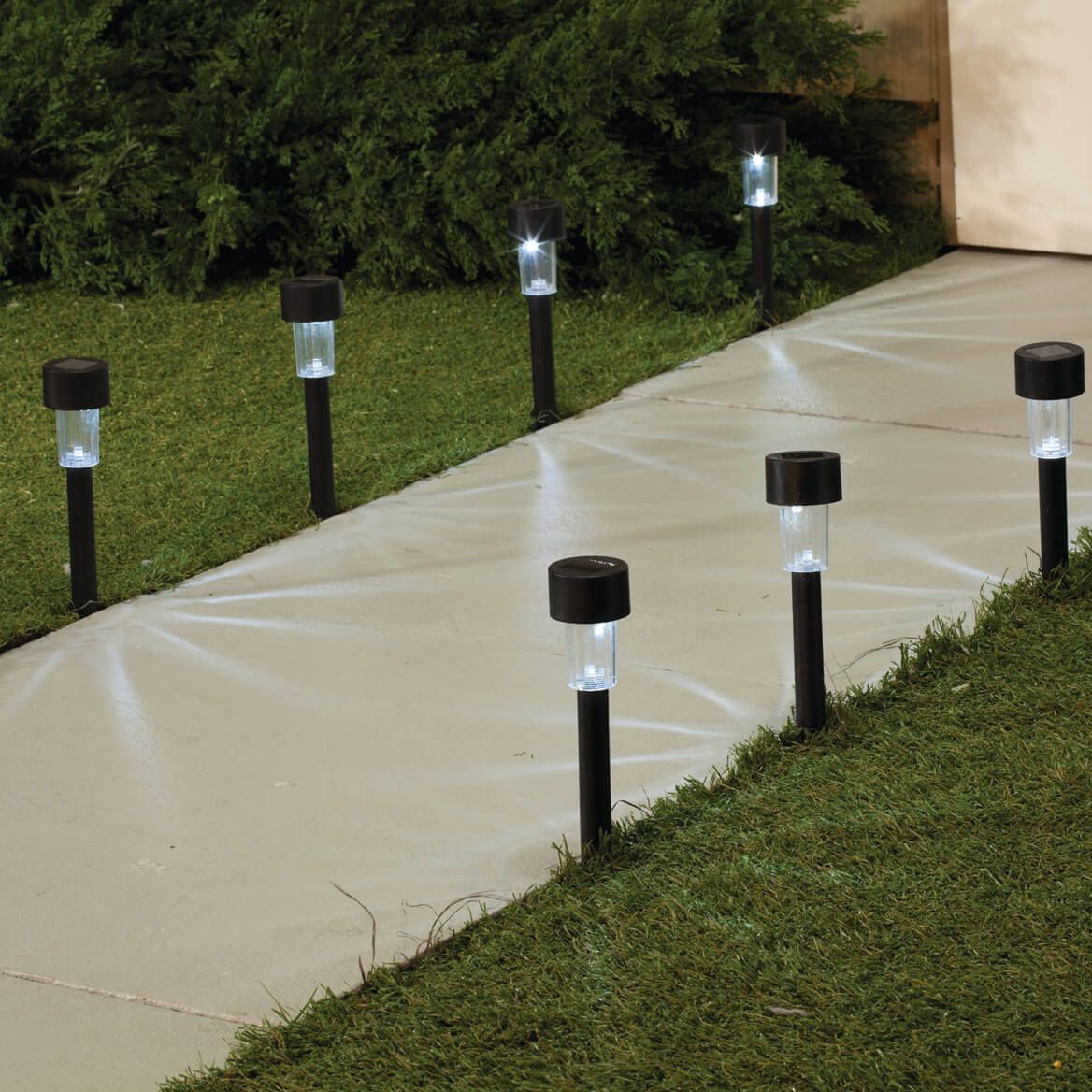 Black Solar Lights Set of 10-360651