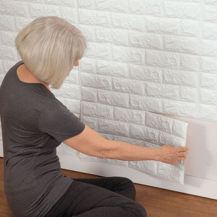 Faux Brick Wall Tile Decals-361055