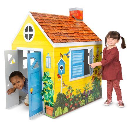 Melissa & Doug® Cardboard Indoor Playhouse-361560