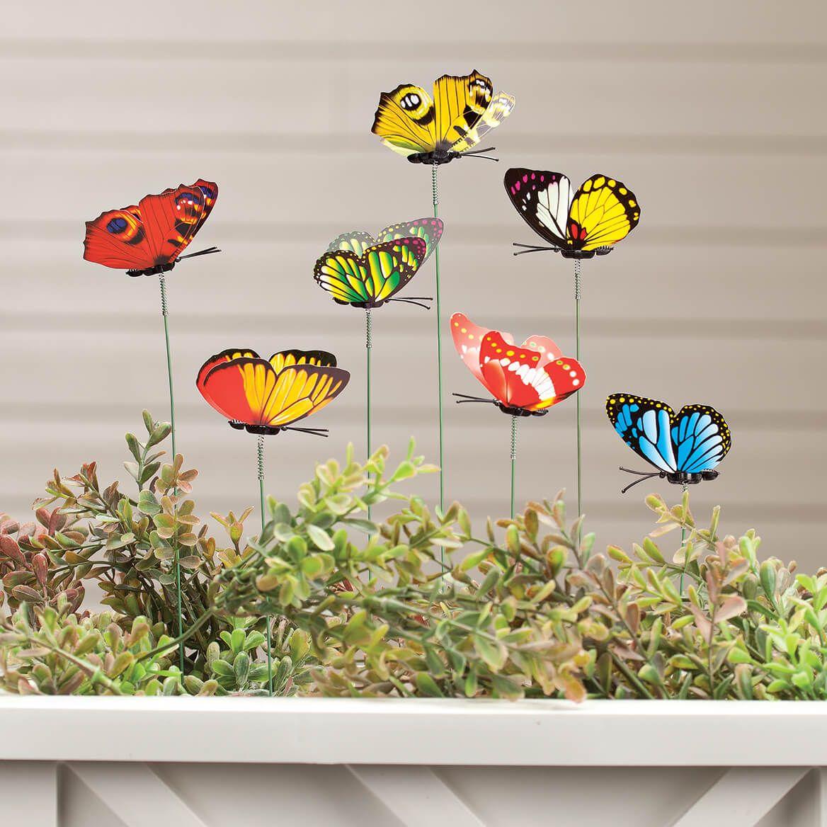 Butterfly Planter Picks Set of 24-361680