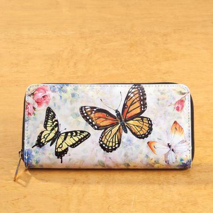 Designer Wallet Butterflies-361860