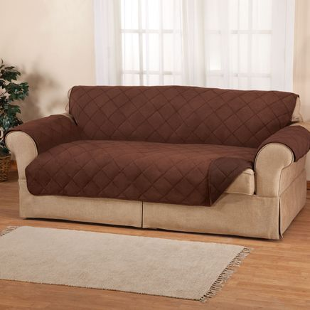 Naomi Suede-Microfiber Loveseat Cover by OakRidge™-361906
