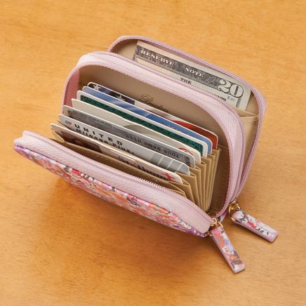Buxton® RFID Floral Accordion Wallet-362037