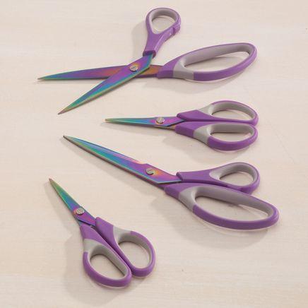 Purple S/4 Titanium Scissors-362575