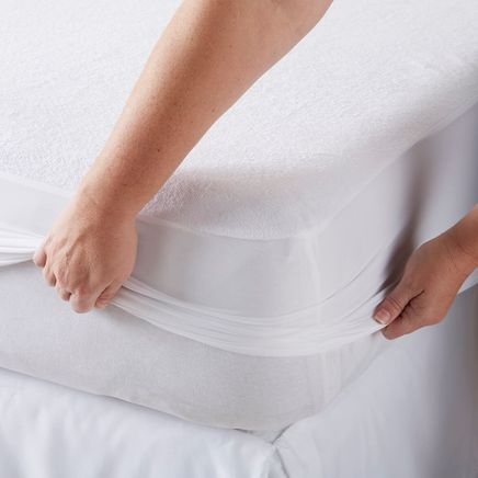 Cotton Terry Mattress Protector-362659