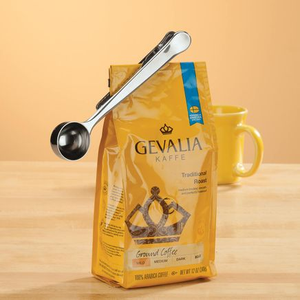 Stainless Steel Coffee Measure Cup with Clip-362757