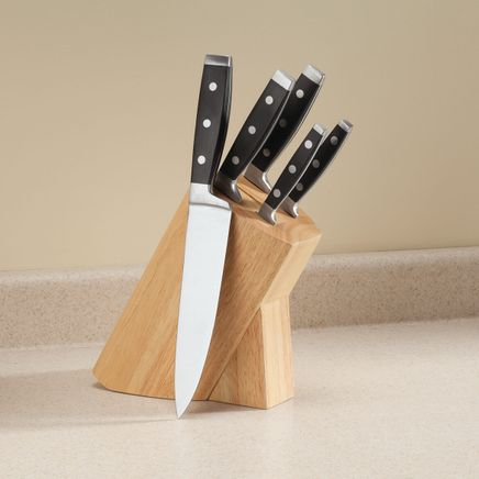 6-Pc. Forged Knife Block Set by Home Marketplace-362758