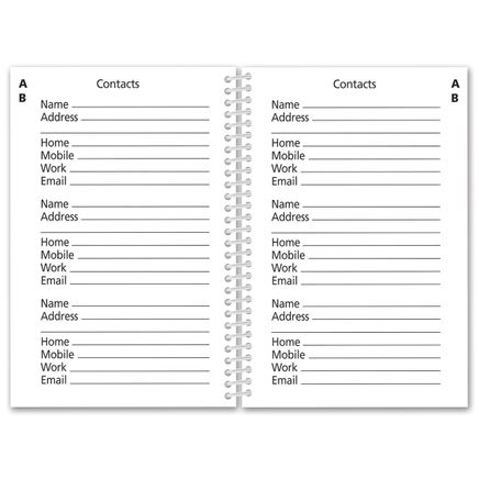 Large Print Address Book-362935