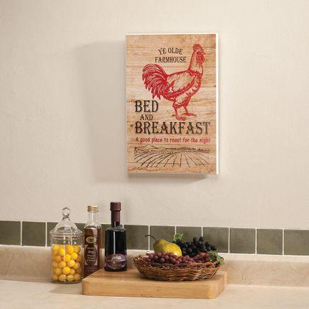 Farmhouse Bed & Breakfast Wall Art-363050