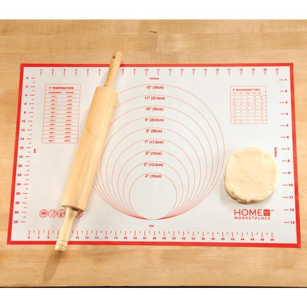 Silicone Pastry Mat by Home Marketplace™-363173
