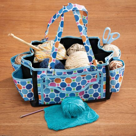 Multi-Pocket Storage Tote-363508