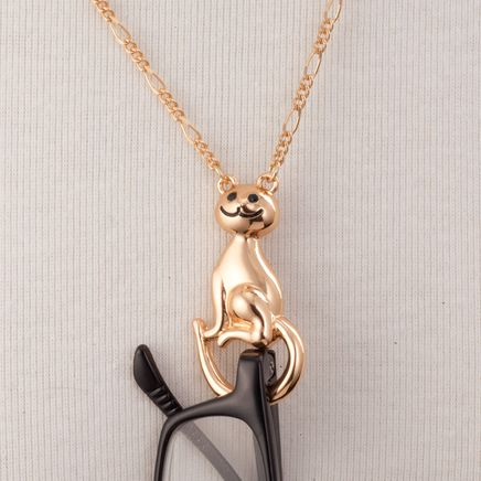 Cat Necklace Eyeglass Holder-363509