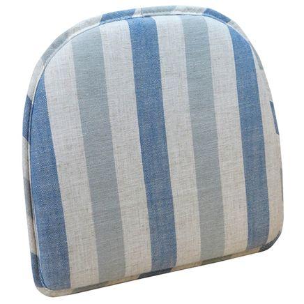 Liza Stripe Chair Pad-363581