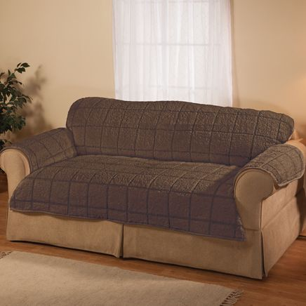 Parker Water-Resistant Sherpa Sofa Protector by OakRidge™-363771