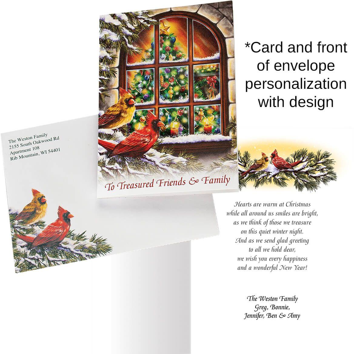 Treasured Friends Christmas Card Set of 20-363932