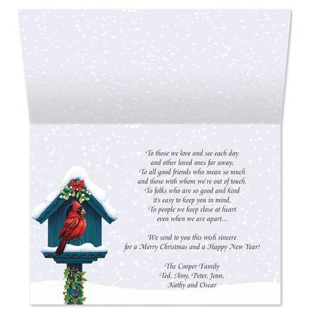 Festive Friends Christmas Card Set of 20-364045