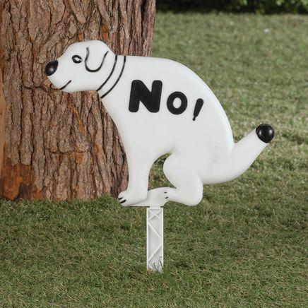 No Waste Dog Sign-364509