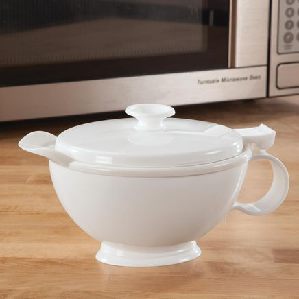Stay-Hot Microwaveable Sauce Pot-364675