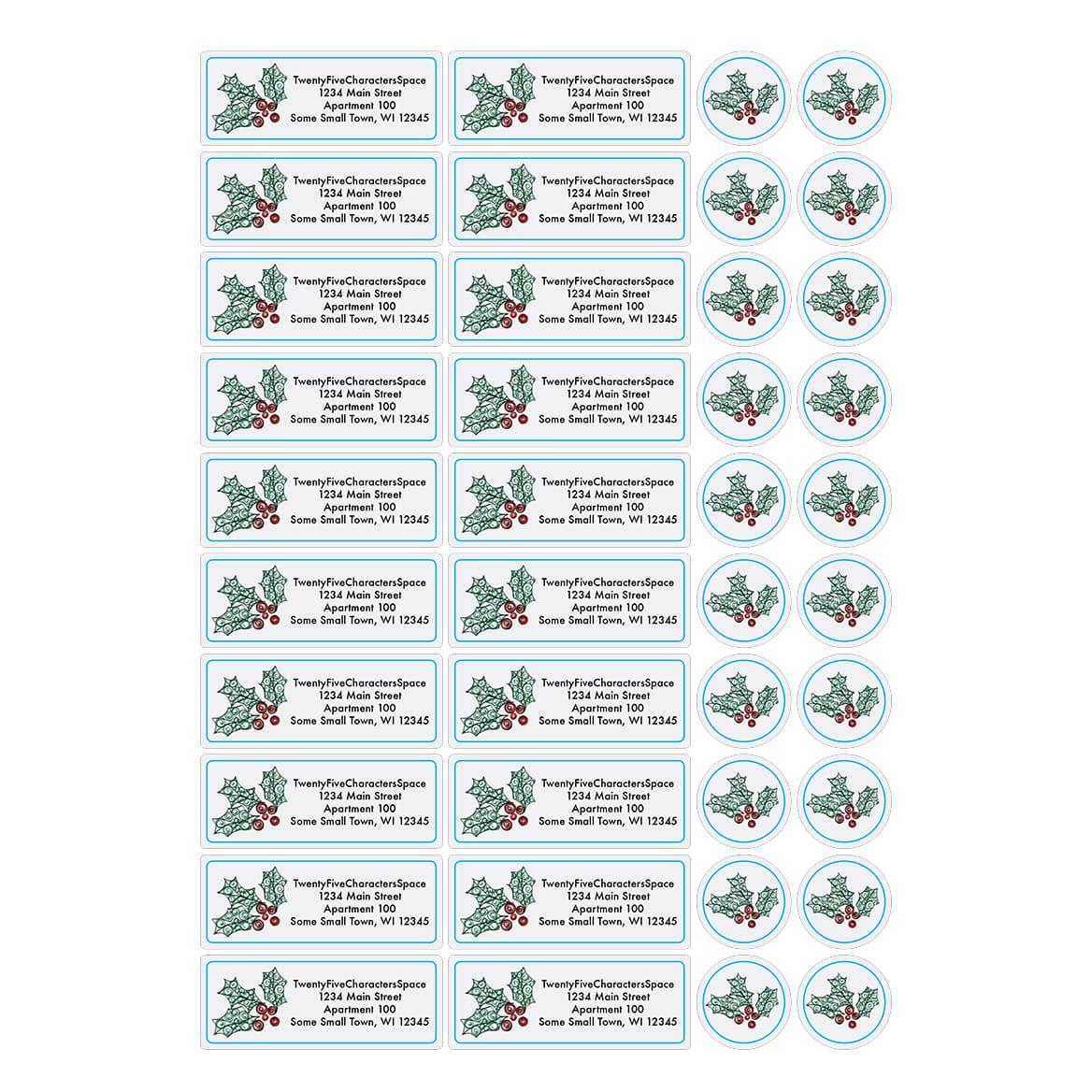 Personalized Paper Filigree Address Labels & Envelope Seals 20-364727