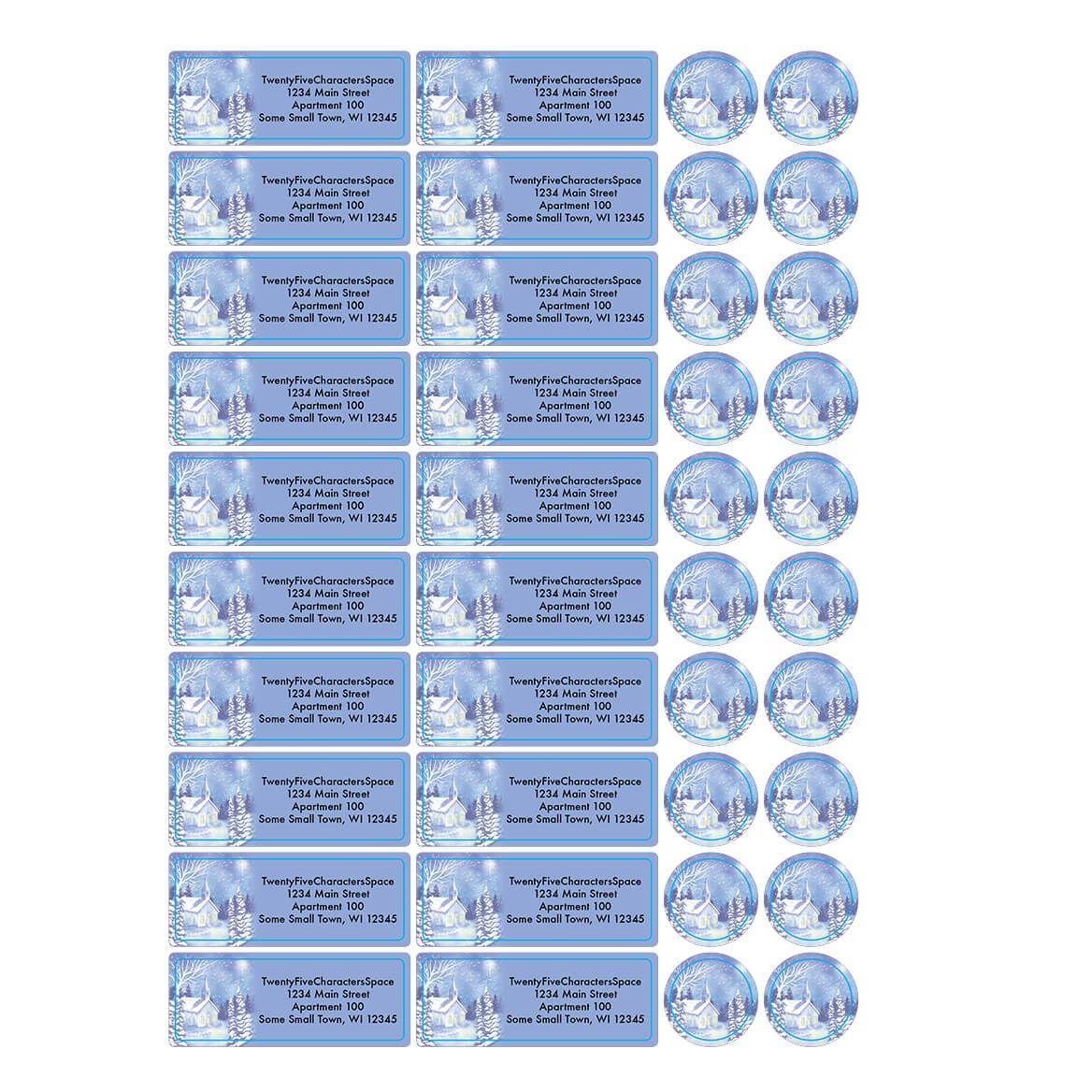 Personalized Twilight Chapel Address Labels & Envelope Seals 20-364750