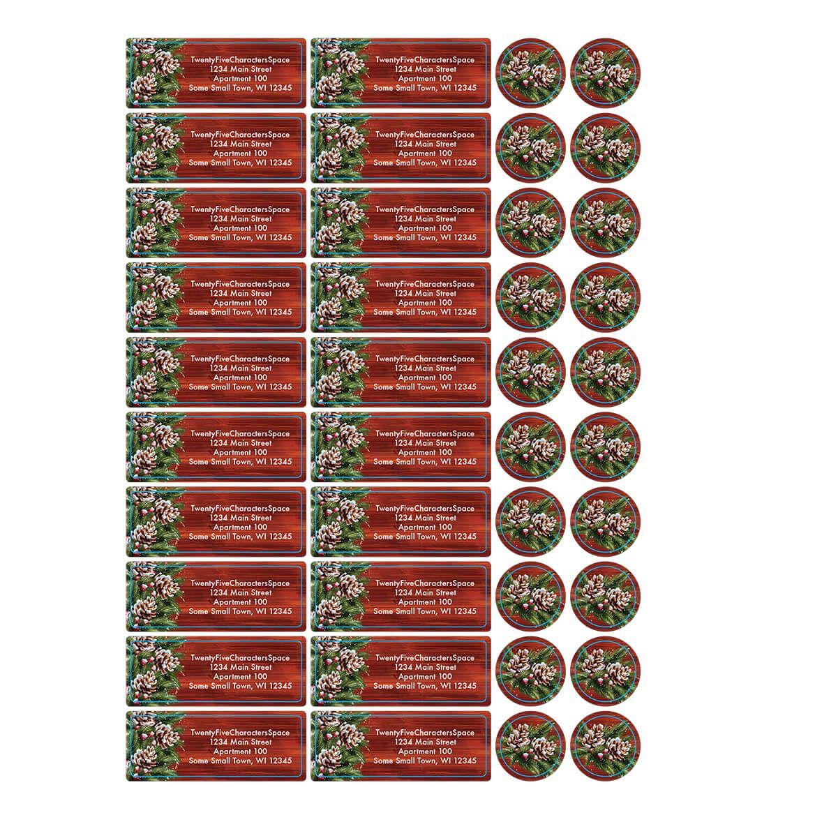 Personalized Christmas Joy Address Labels & Envelope Seals 20-364760
