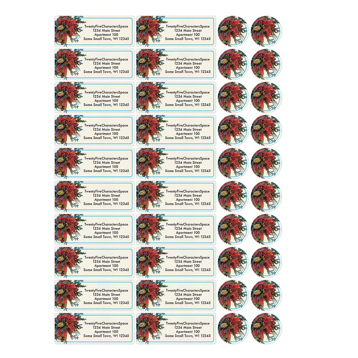 Personalized Greenery Collage Address Labels & Seals 20-364770
