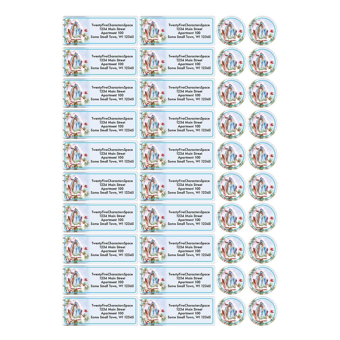 Personalized Praying Angels Address Labels & Envelope Seals 20-364781