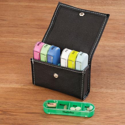 7 Day Pill Organizer with Case-365571