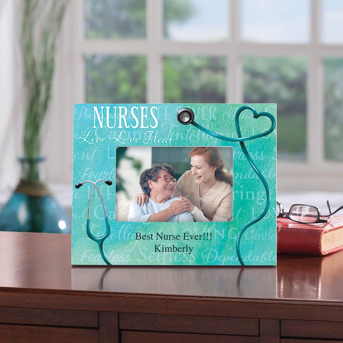 Personalized Nursing Word Art Photo Frame-365636