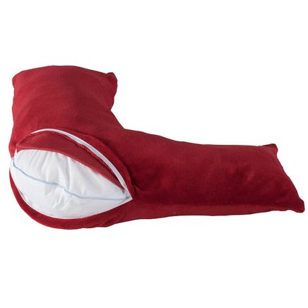 Plush L-Shaped Pillow Cover by LivingSURE™-365687