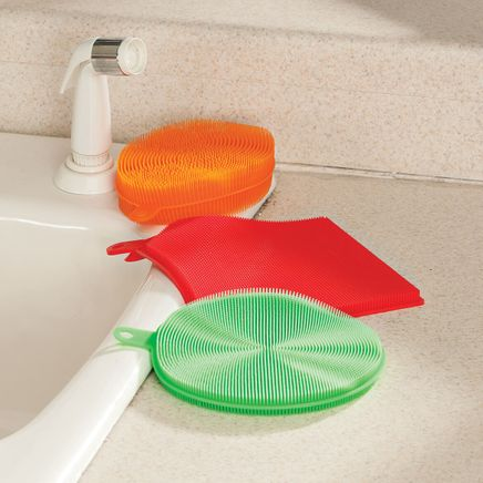 Set of 3 Silicone Sponges-365830