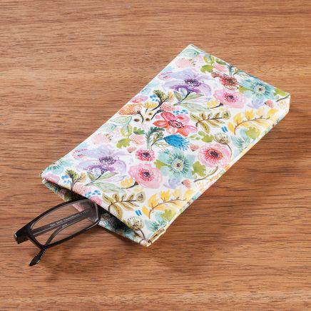 Buxton Petite Garden Pinch-Top Eyeglass Case-365839