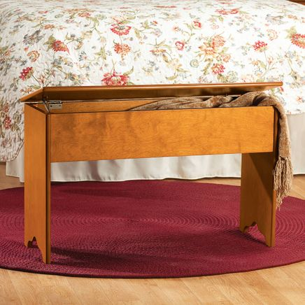 Shaker Storage Bench by OakRidge™     XL-366056