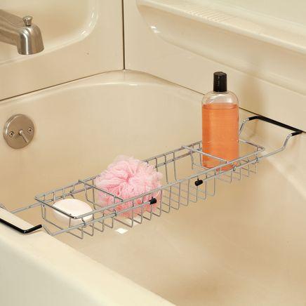 Expandable Bathtub Caddy-366378