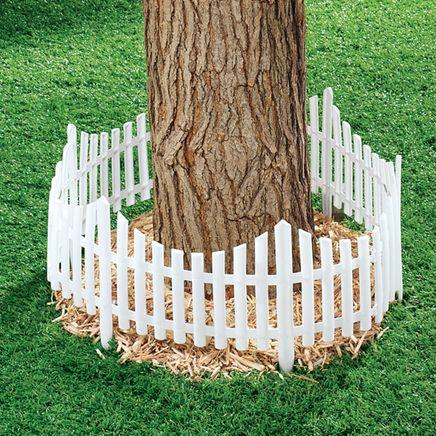 Flexible Fence Edging, Set of 4-366635